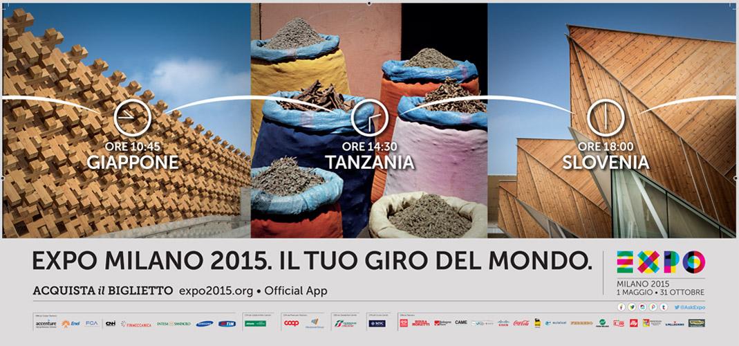 Campagna affissione expo milano 2015